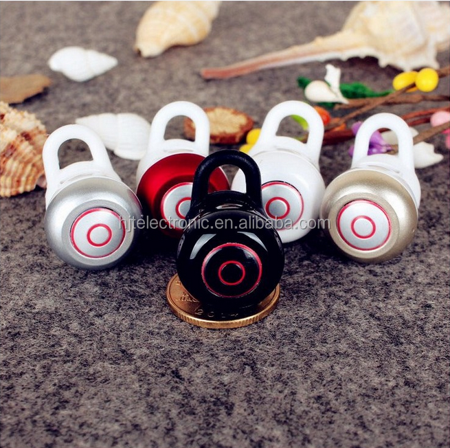 Mini6 Wireless Bluetooth Headset Super Small Snail Earphone Car Driver Handfree With Microphone