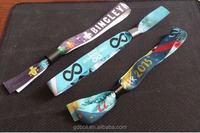 Charity wristbands /awarenss lanyard /fabric bracelet for the Charity fund raiser