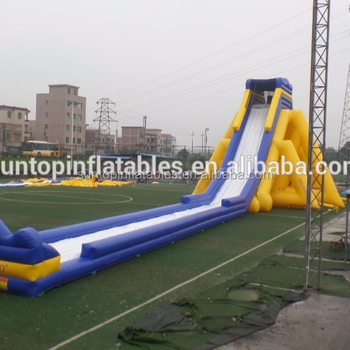 hot inflatable titanic slide toys and logo and design with 0.55mm PVC Plato tarpaulin best quality