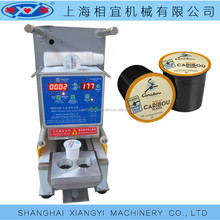 adjustable mould electric coffee capsule sealing machine