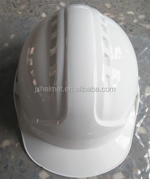 ABS CE EN 397 standard safety helmet for construction worker with visor