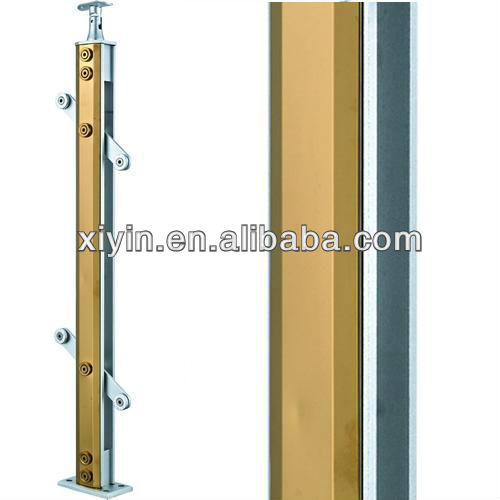NEW PRODUCT XY-(13)042 aluminum and stainless steel handrail/Aluminum Armrest/Modern Banister Design