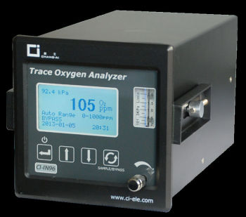 CI-IN96 process trace oxygen analyzer