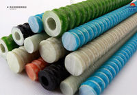 GRP (glass fibre reinforced plastic) bolts as solid or hollow bar version are available on request