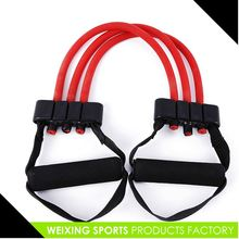 Top selling super quality elastic lady chest expander for sale