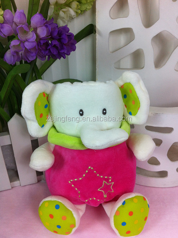 Top Selling Heat Preservation Lovely Cartoon Plush Baby Bottle Cover With EN71 Certification