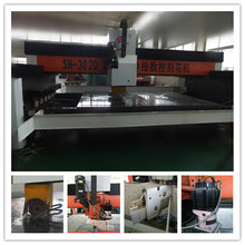 High Speed & Quality CNC Glass Engraving Machine /A new Generation Glass Craft Further Processing Equipment
