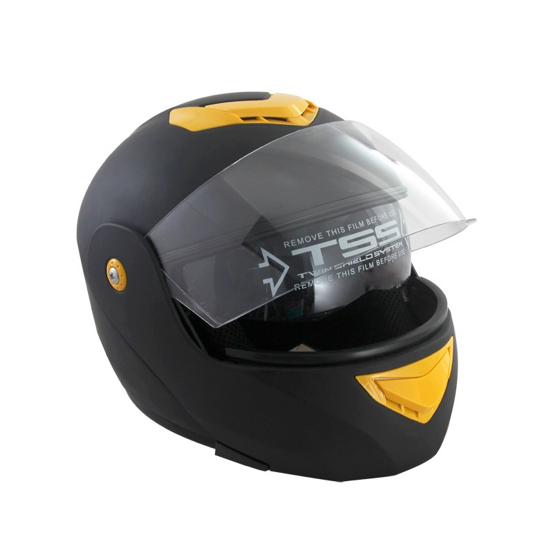 double visor open face helmet