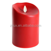 Wholesale paraffin wax flameless LED candle light for bedroom