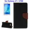 Flip Leather Case for Samsung Galaxy J7, back cover for samsung j7 2016
