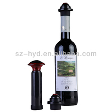 Save Wine Bottle Vacuum Pump Cork Sealer Preserver Plastic Wine Bottle Stoppers