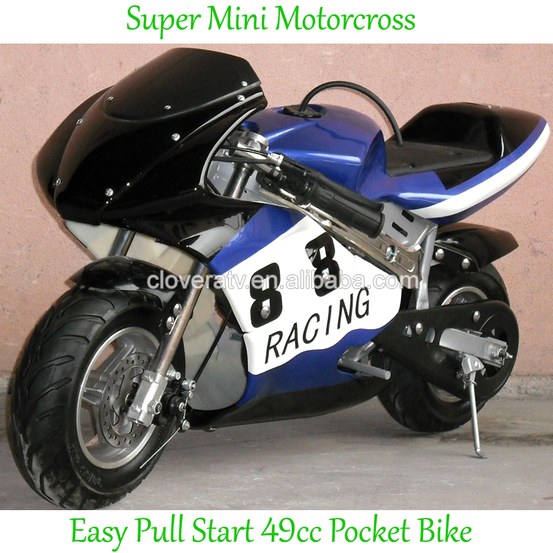 Petrol Powered 49CC Mini Motorcross Pocket Bike with Gearbox