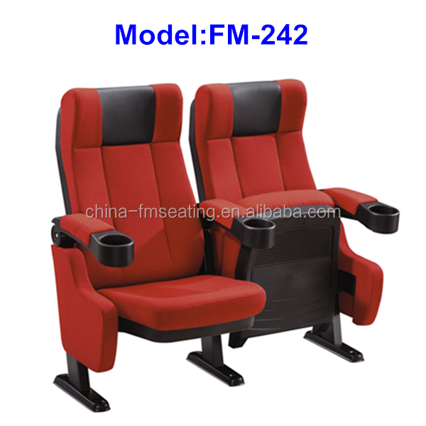 FM-242 Best price fabric cover cinema hall seats
