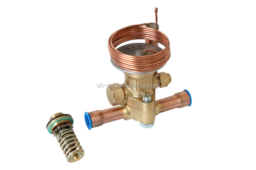 Thermal expansion valve of R410a