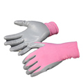 NMSAFETY EN388: 2016 hand care pink nitrile gloves