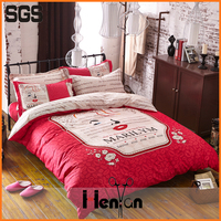 custom print 3D korean bed sheet