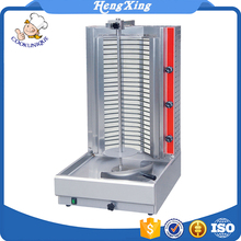 2018 promotional cheap frozen chicken electric shawarma machine for sale