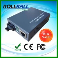 SFP/SC/FC/ST port 10/100/1000M Gigabit ethernet fiber media converter single mode