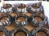 Duplex stainless steel ASTM A182 F51 API ANSI B16.5 RF welding neck reducing flange
