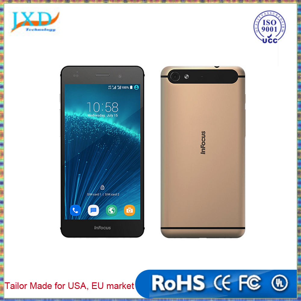 "Infocus M560 MTK6753 1.3GHz Octa Core 5.2"" IPS FHD Screen 1920*1080 2GB RAM 16GB ROM 13MP Android 5.1 4G LTE Smartphone"