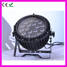 2016 hot sell Waterproof RGBWA UV 6in1 18X18W LED rgbawv 6-in-1 led par light
