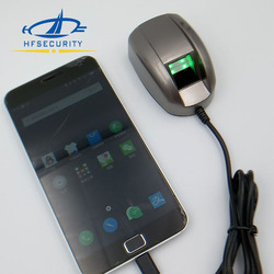 HF4000 China Supplier Free SDK Windows Portable Biometric USB Fingerprint Scanner For Bank