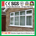 Factory single/double/triple toughened glass casement window