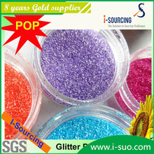 China Top 10 Colorful industrial Nail art glitter powder
