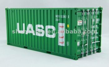 20FT 1:20 plastic container model/toy