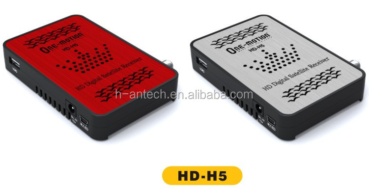 mini full hd Satellite Receiver wifi HD-H5 DVB-S2