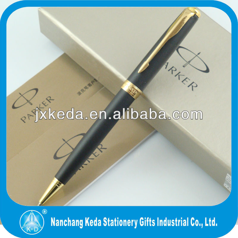 2014 high quality hot selling balck sonnet parker pens made in china