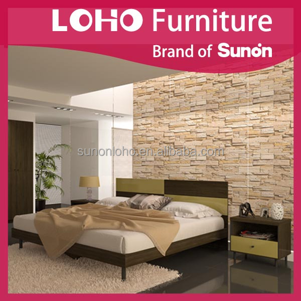 King Bed MPB/MDF/Melamine The Bedroom From LOHO Furniture