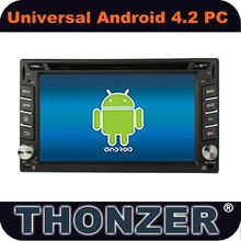 "6.2"" Pure 4.2 Android Car DVD with WI-FI and 3G"
