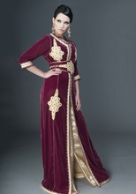 Moroccan gown style caftan