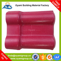 ASA coated thermal insulation spanish roof tiles for roof