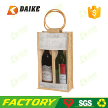 beer transparent burlap wholesale bottle window jute wine bag