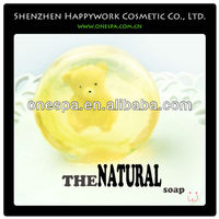 Serie of glutathione skin whitening organic soap base