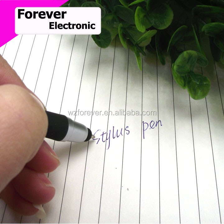 2 in 1 Promotional Plastic Twist Funny Stylus Pen