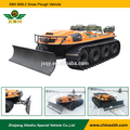 XBH 8x8-2 Amphibious vehicle with forklift reversible Snow Plough Shovel snow special car Snow Cleaning Vehicle