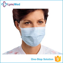 Hospital / clinics disposable anti dust pollution medical face mask