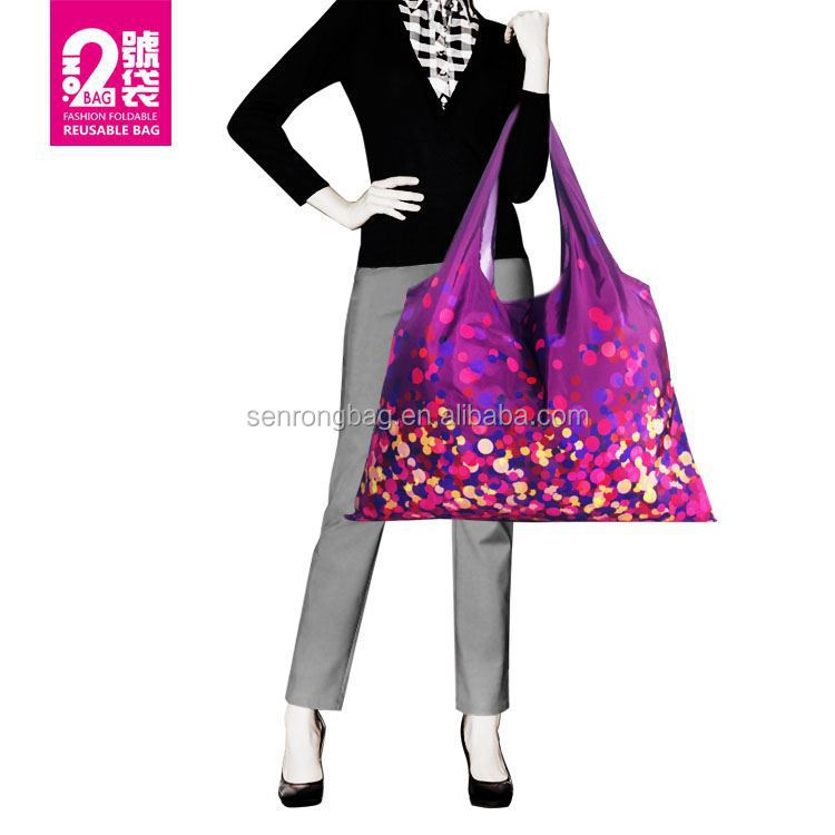 Guangzhou Good Quality grocery shopping bag/Foldable Shopping Bags