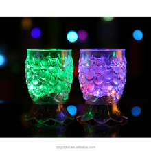Colorful Flashing Led Jar Cups Plastic Led Glasses Bar Accessories Led Champagne Glass Led Nightclub Cups Event Party Supplies
