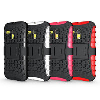 combo kitstand cases for moto g cell phone casing