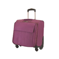 cute pink laptop travel trolley carry hand luggage bag for women