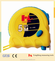 The New ABS measuring tape 5 m/meter, Tape Measures with plastic case