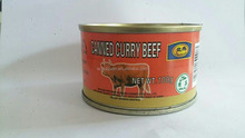 2017 hot selling convenience canned meat curry beef