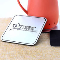 Top selling custom design eco friendly tea cup coaster for wholesale