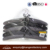 Mixed Color 5pcs Satin Padded Coat Hangers with Chrome Hook