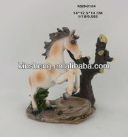 2014 new year polyresin horse souvenier gifts