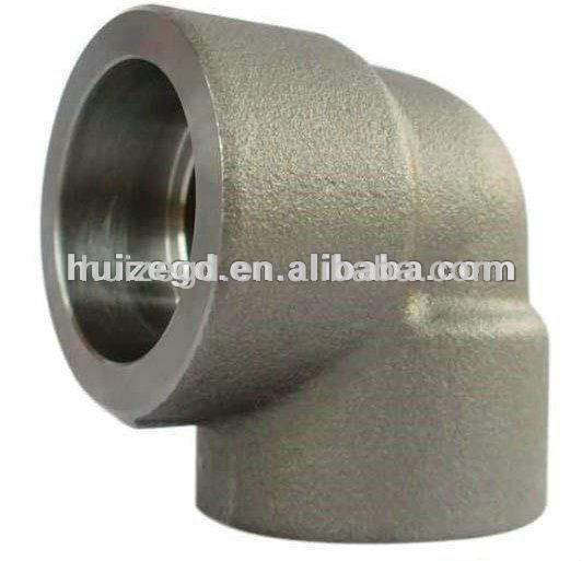 NPT threaded 90 degree ASTM A 105 Forged Steel elbow